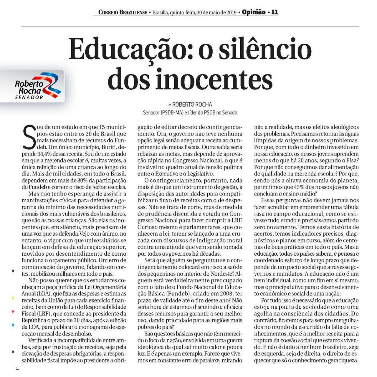 Educação_o silêncio dos inocentes