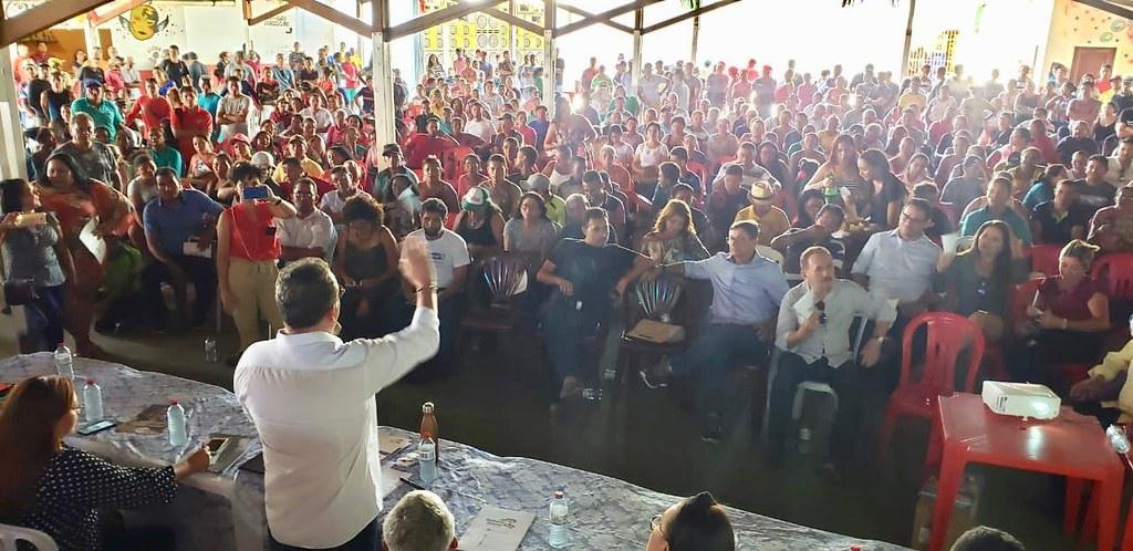 Audiência Pública em Santo Amaro reúne mais de mil pessoas para debater limites dos Lençóis Maranhenses
