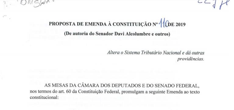 PRINCIPAIS CARACTERÍSTICAS DO SUBSTITUTIVO À PEC 110/2019