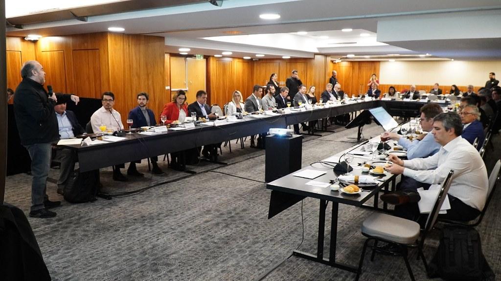 Roberto Rocha fala de Reforma Tributária para os maiores varejistas do Brasil