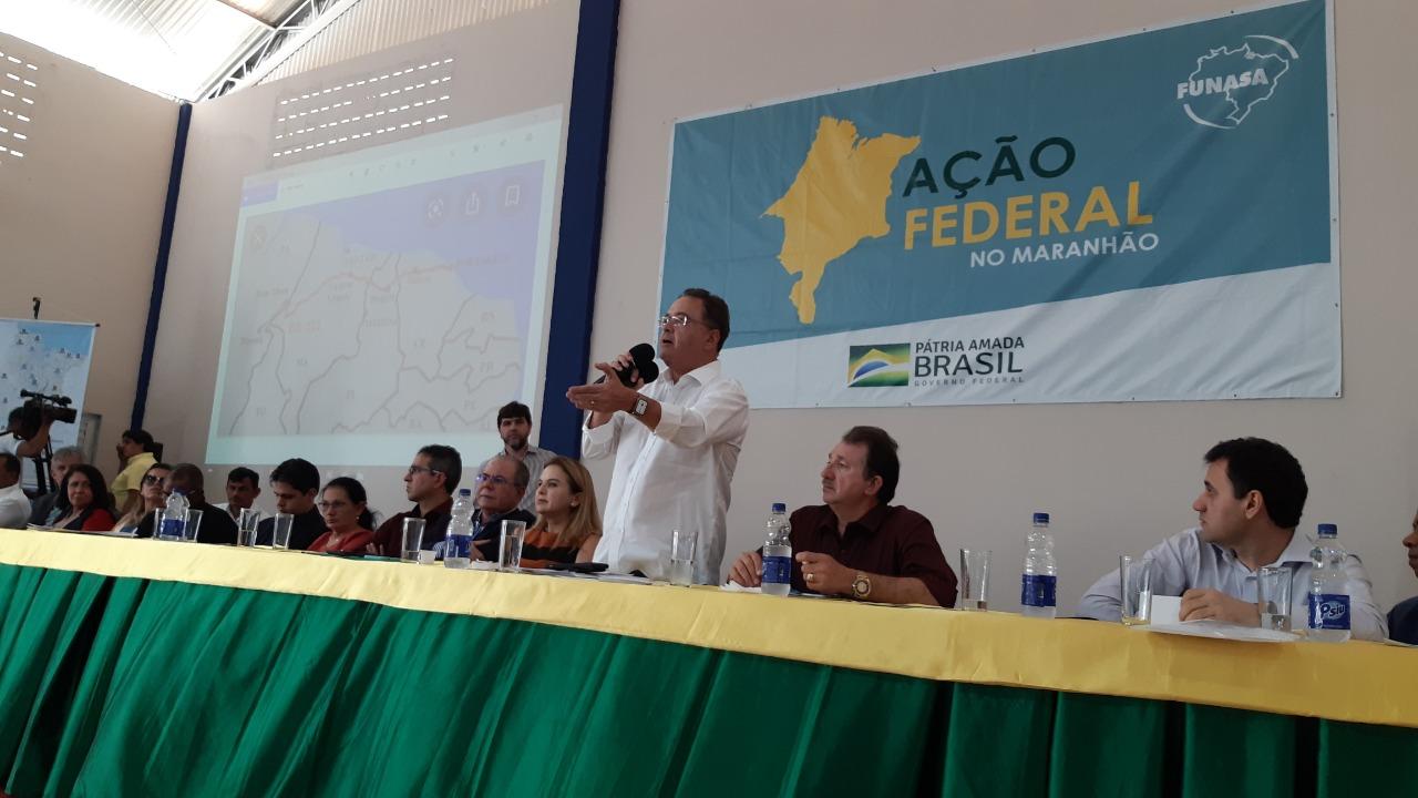 Chapadinha: Senador Roberto Rocha assegura melhorias para a região dos Cocais
