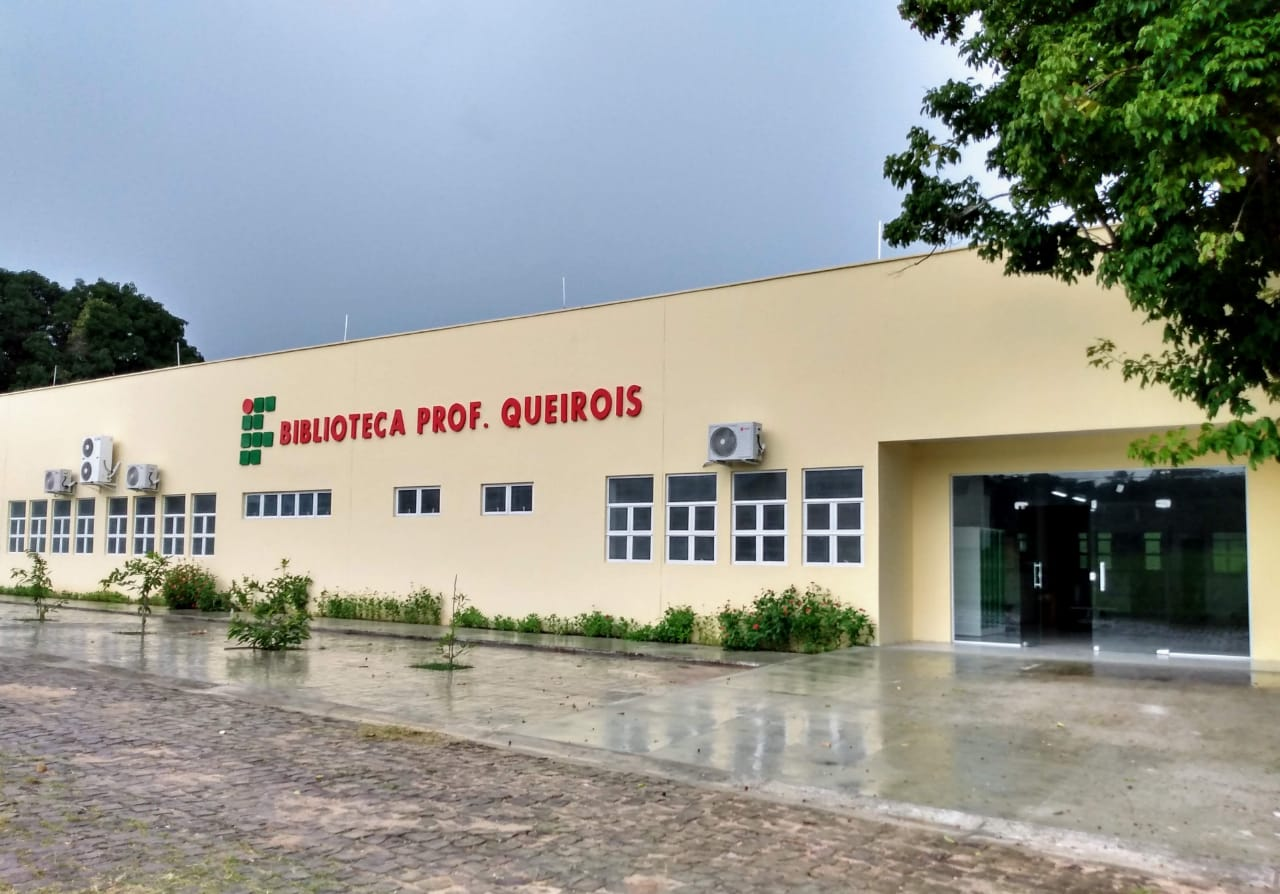 Biblioteca do IFMA de Caxias será inaugurada nesta sexta-feira