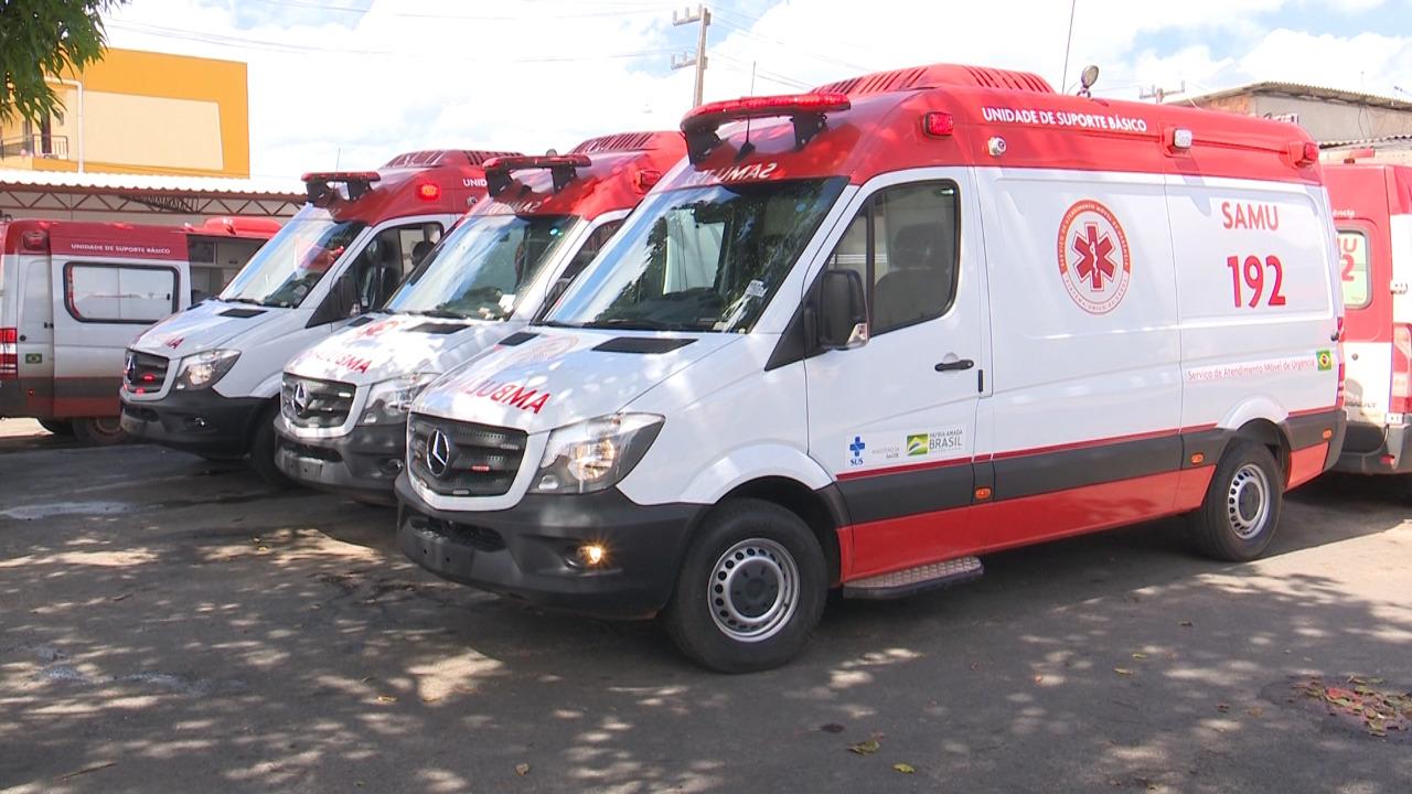 Ambulâncias do SAMU são entregues para São Luís