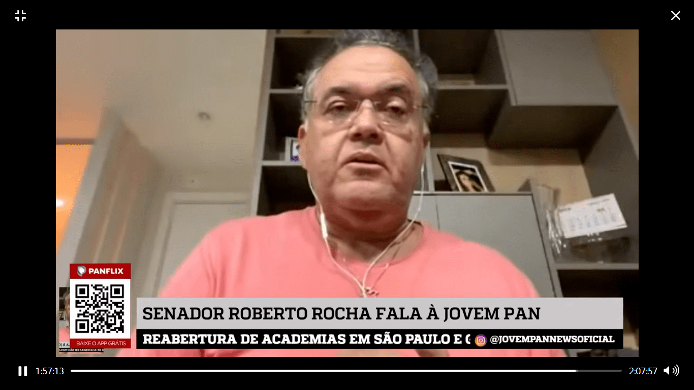 Roberto Rocha analisa a Covid-19 no Maranhão