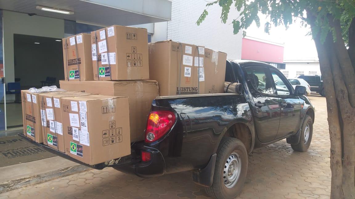 Respiradores para o Maranhão: Roberto Rocha viabiliza 50 aparelhos