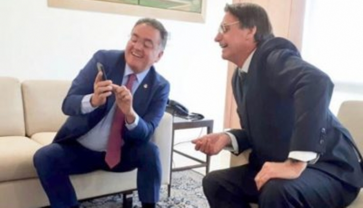 Roberto Rocha e Bolsonaro