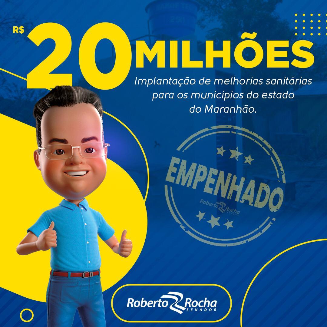 Municípios vão receber melhorias sanitárias, garante Roberto Rocha
