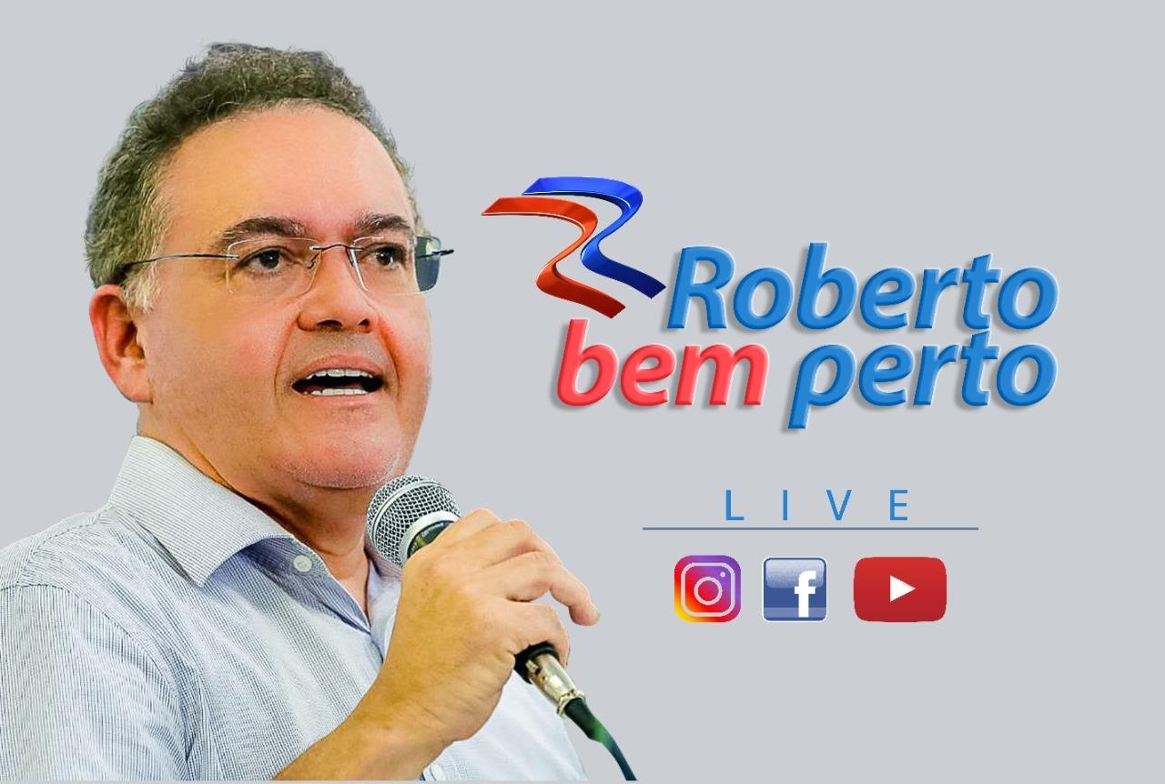 Senador Roberto Rocha faz live para discutir a CPI da Covid