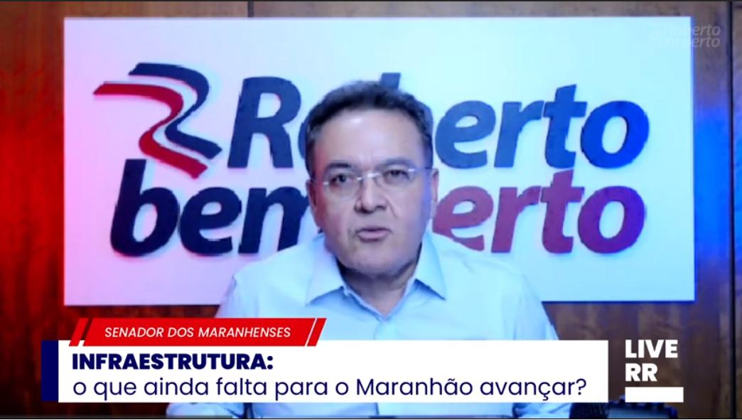 Maranhão só cresce se tiver projeto de desenvolvimento, afirma Roberto Rocha