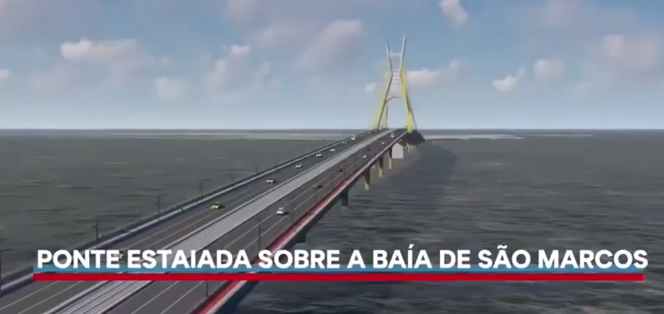 Autorizada licitação para elaboração de projeto da ponte sobre a Baía de São Marcos em São Luís